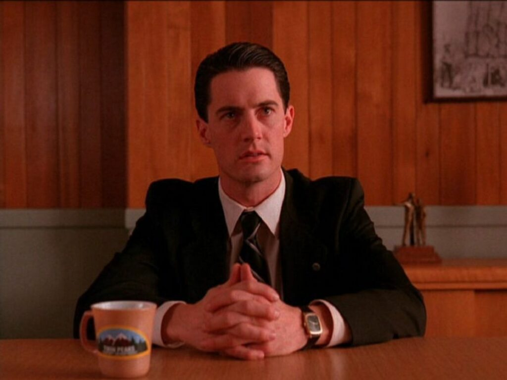 Damned fine cup of coffee and Agent Cooper