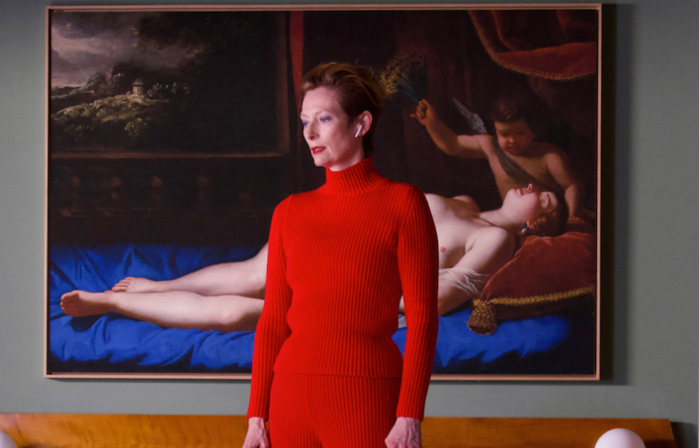 Tilda Swinton still from The Human Voice